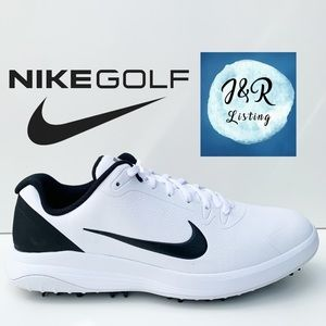 Nike Infinity G Golf Shoes White/Black (Wide)